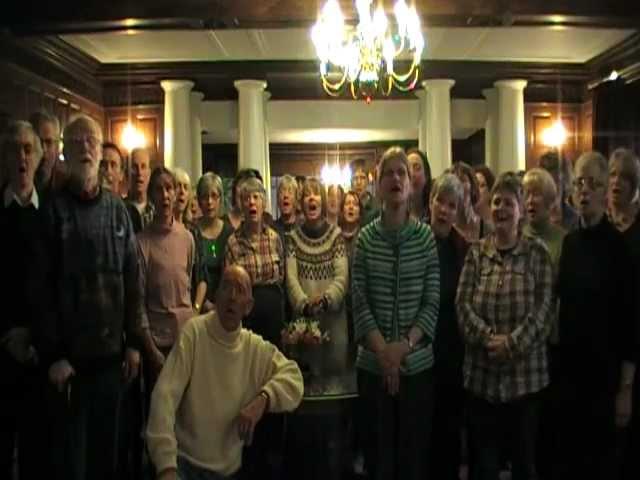 Durham Scratch choir at Rydal Hall