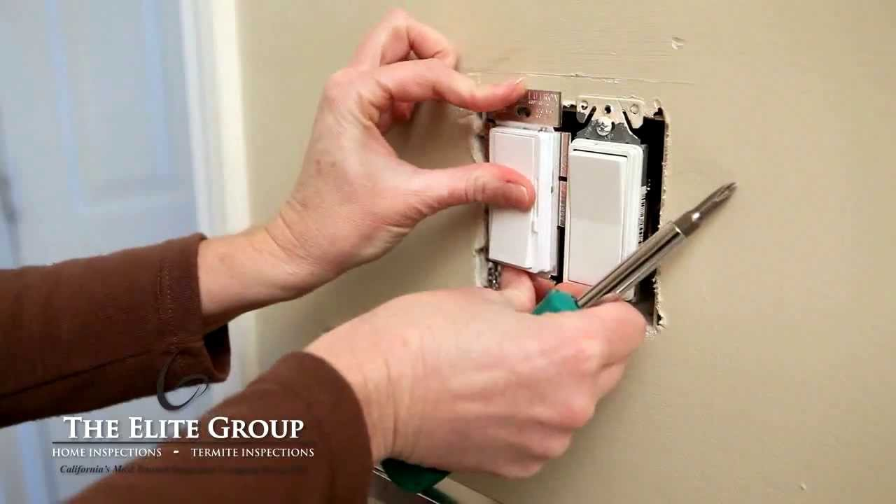 Install a Single Pole Dimmer Switch | The Elite Group Property ...