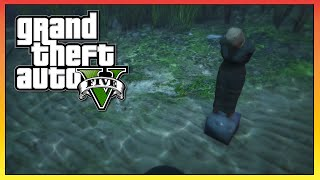 GTA 5 - SECRET Underwater Woman Easter Egg! - Dead Body Easter Egg! (GTA V)