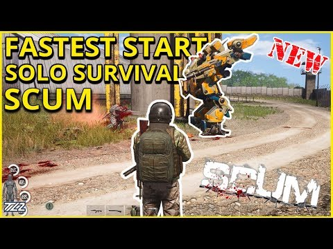 SCUM - Instant Solo Loot Up - New Open World Survival Game (New Rust/DayZ?) thumbnail