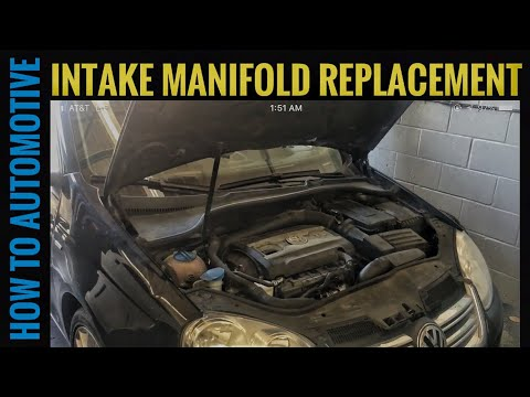 How to Replace the Intake Manifold on a 2009-2014 Volkswagen Jetta 2.0T TSI