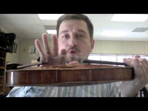 Fixing Violin Or Viola Bridge