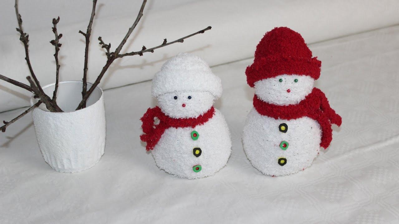 Diy Schneemänner Aus Socken Snowmen Socks