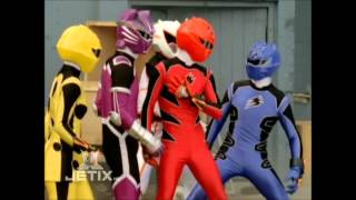 Jungle Fury Rangers vs. Spirit Rangers