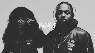 Video (FREE) SZA X Kendrick Lamar Type Beat - Hope download MP3, 3GP, MP4, WEBM, AVI, FLV Juli 2018