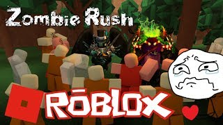 (In Belagerung durch Zombie) ROBLOX Zombie Rush