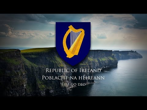 """Republic of Ireland (1949-) National Anthem """"Amhrán na bhFiann/The Soldier's Song"""""""
