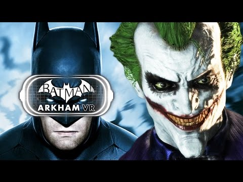 I AM BATMAN! | Batman Arkham VR (HTC Vive Gameplay)