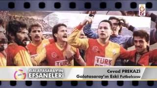 Galatasaray'ın Efsaneleri | Eski Futbolcu - Cevad Prekazi