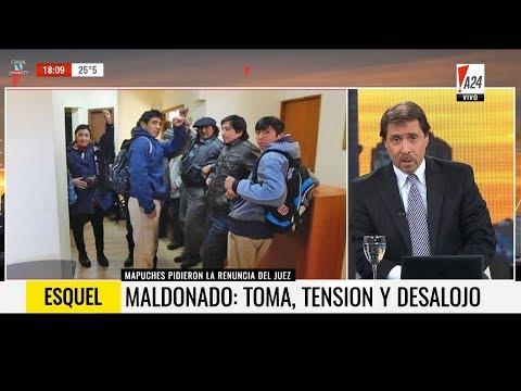 """""""Maldonado: toma, tensión, y desalojo"""", en """"De 18 a 21"""" de E.Feinmann - 20/09/17"""