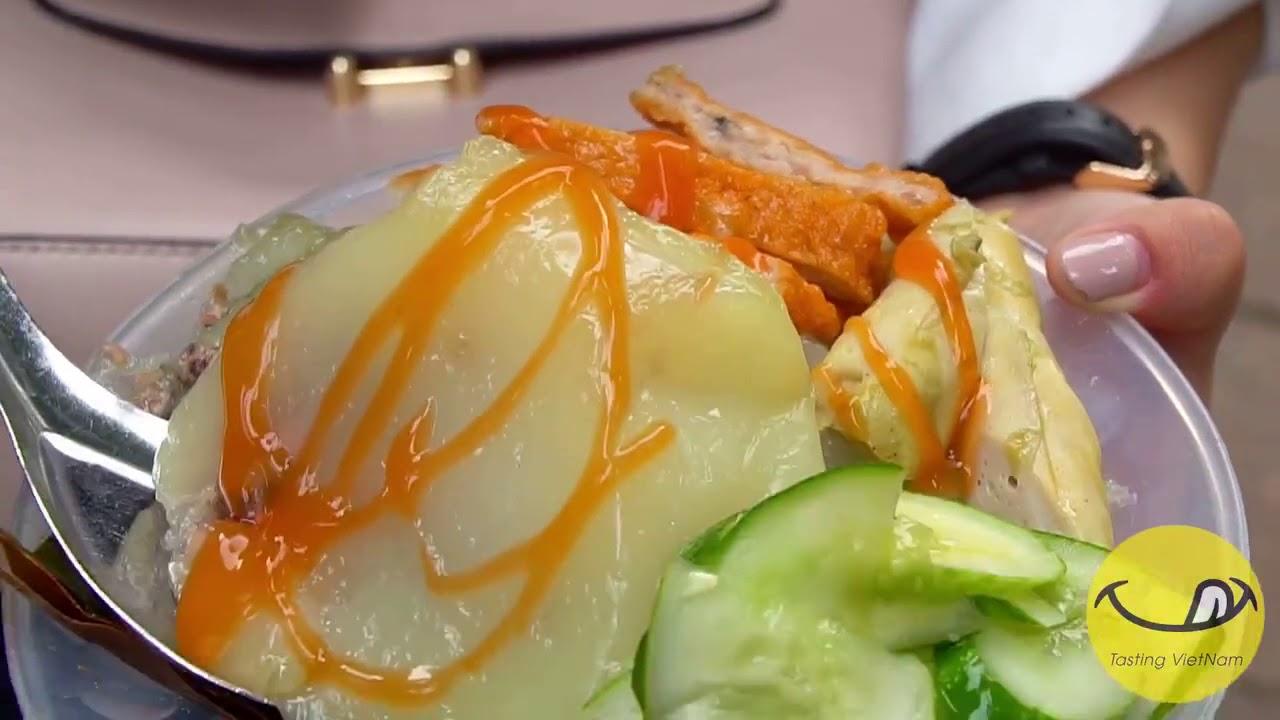 BÁNH GIÒ NÓNG YÊN PHỤ | Vietnam streetfood | TastingVietNam