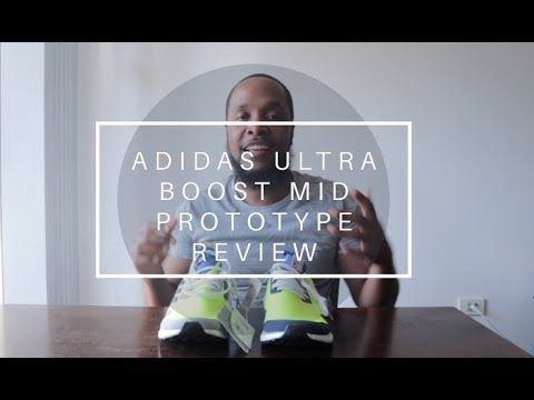 690303bed042d1 ADIDAS ULTRA BOOST MID PROTOTYPE REVIEW - YouTube