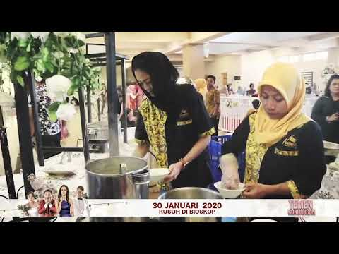 Kejutan Cast Film Temen Kondangan di Kawinan   Film Temen Kondangan Rusuh 30 Januari 2020 di Bioskop