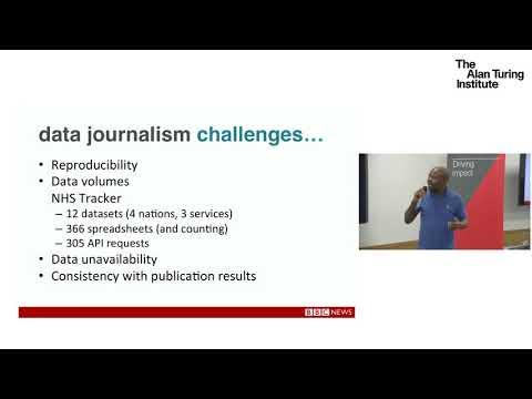 Data Science and Data Journalism Projects as BBC, Ransome Mpini, Magda Piatkowska & Jeremy Tarling