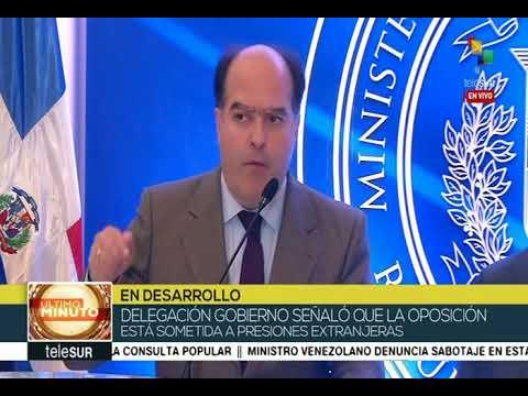 Julio Borges, declaraciones desde República Dominicana el 6 febrero 2018 en la noche