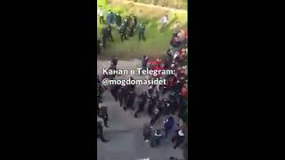 ОМОН избил болельщиков Спартака