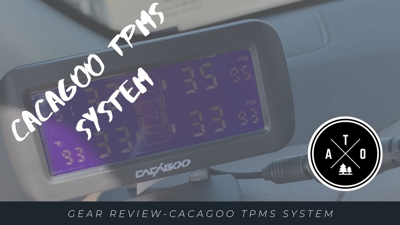 Gear Review-Cacagoo TPMS System (Wireless TPMS, Vehicle Mods, Offroading, Overlanding, Safety)