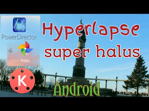 Cara Edit Video Hyperlapse Di Android Kinemaster #hyperlapse #kinemaster