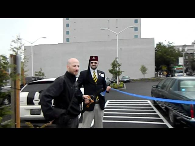 Eric Anderson Memorial Parking Ribbon Cutting Pt 5 of 5 Travel Video