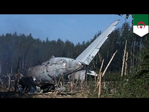 Algerian military plane crash kills all 103 onboard