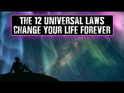 The 12 Universal Laws: The Law of Attraction is Just One