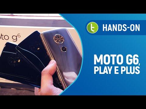 Moto G6, Play e Plus: Tudo sobre o