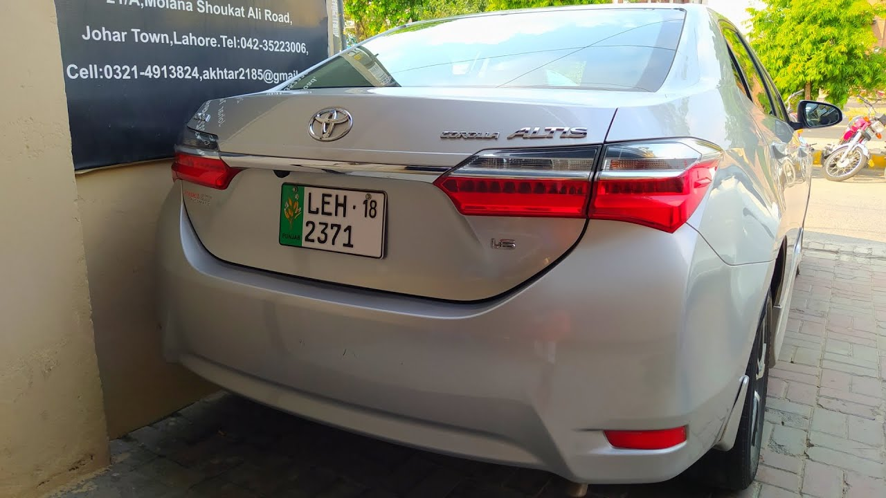Toyota Corolla Altis 1 6 2020 Detailed Review Price In Pakistan Specs Features Youtube