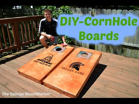 DIY-Corn Hole Boards