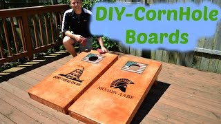 DIY-Corn Hole Boards