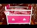 Baby Annabell S Dimples Cot Bed With Storage And Doors Little Girl Sends 8 Baby Dolls Go To Bed mp3