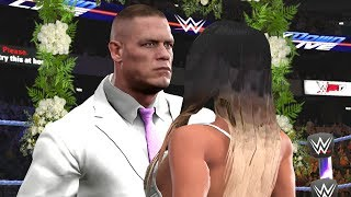 WWE 2K17 Story - John Cena Gets Married To Mystery Bride - Ep.63 🔔