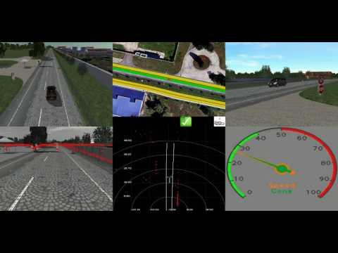 2014- Pedestrian avoidance in E'Motive Quasper projects IFSTTAR LIVIC