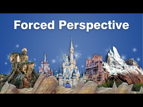 The Science of Forced Perspective at Disney Parks