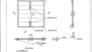 Ворота противопожарные ВРПИ, по типу серии 1.435.2-37.94(, 2013-04-29T09:24:54.000Z)