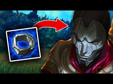 Korea's New Weird JHIN Item Start.. Doran's Ring?! (League of Legends)
