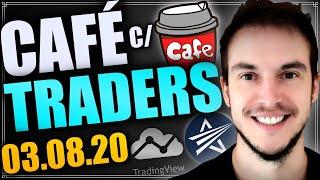 Café com Traders | Ações da Minerva e Marfrig (BEEF3 e MRFG3)