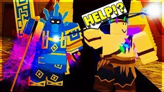 LVL *75* TRIES NIGHTMARE IN KINGS CASTLE! *NOOB TO PRO* #13 (ROBLOX DUNGEON QUEST)