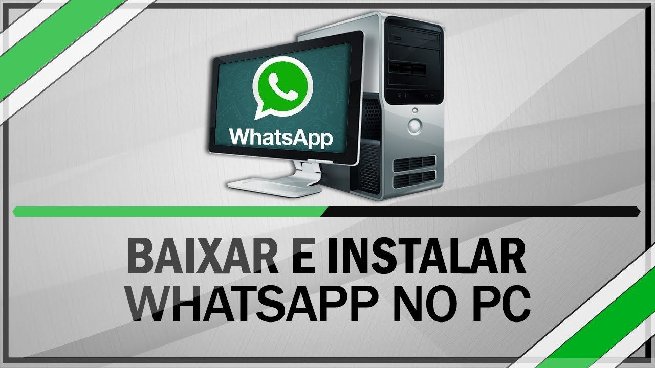 colocar whatsapp no pc