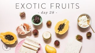 EXOTIC FRUITS HAUL from Ranch 99 🐝 DAY 28 | HONEYSUCKLE