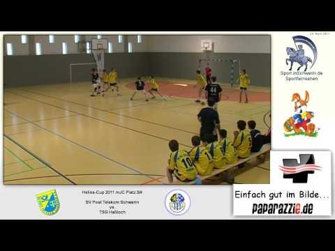 Handball Helios-Cup mJC Platz 3/4 22:27 SV Post Telekom Schwerin vs . TSG Haßloch