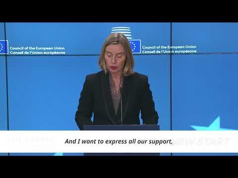 World Awaits 2018 Inter-Korean Summit Federica Mogherini, EU High Representative for Foreign Affairs