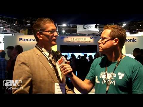 InfoComm 2014: Gary Speaks With Panasonic's Arthur Rankin About their Booth