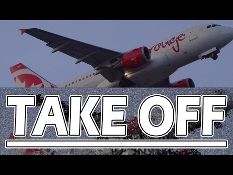 Air Canada Rouge Take Off - Grenada to Canada