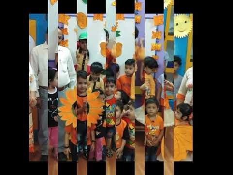 Orange day celebration by Indo American Montessori Pre school
