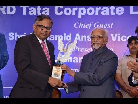 AIMA - JRD Tata Corporate Leadership Award Ceremony 2017 (Full Session)
