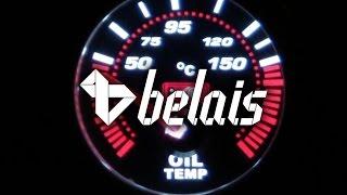 Указатель температуры масла «KetGauge» LEXUS STYLE 7703-2 (Ø52) — «Белайс»