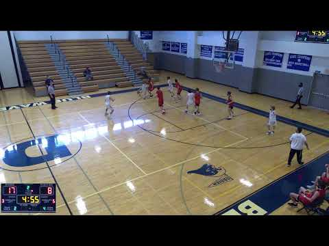 Darien High School vs. New Canaan High Varsity Mens' Basketball