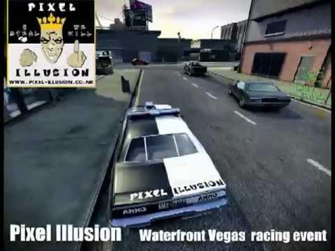 Pixel Illusion - Waterfront Racing Event (Vegas)