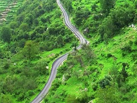 Top view of Uttarakhand � a Cable car ride