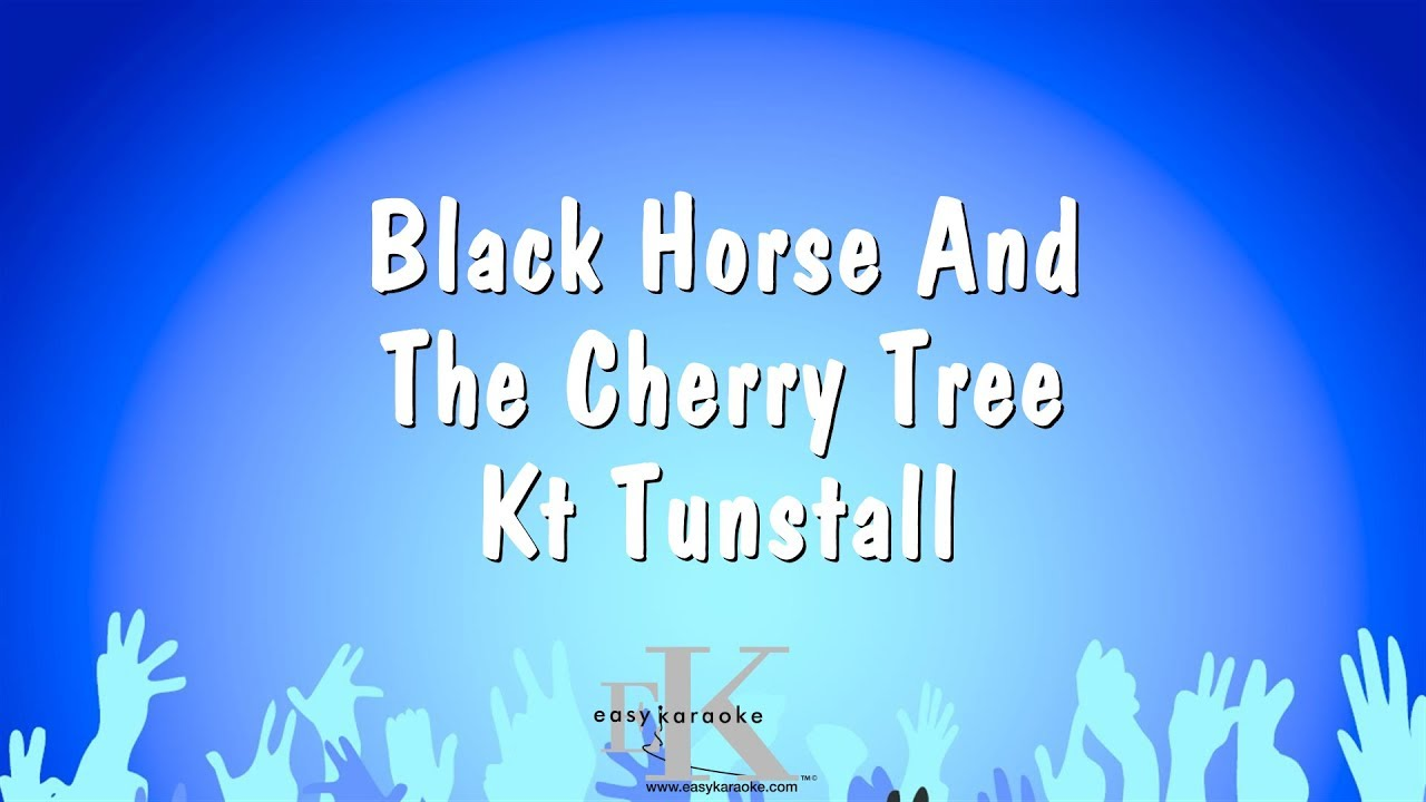 black horse and the cherry tree - 1280×720
